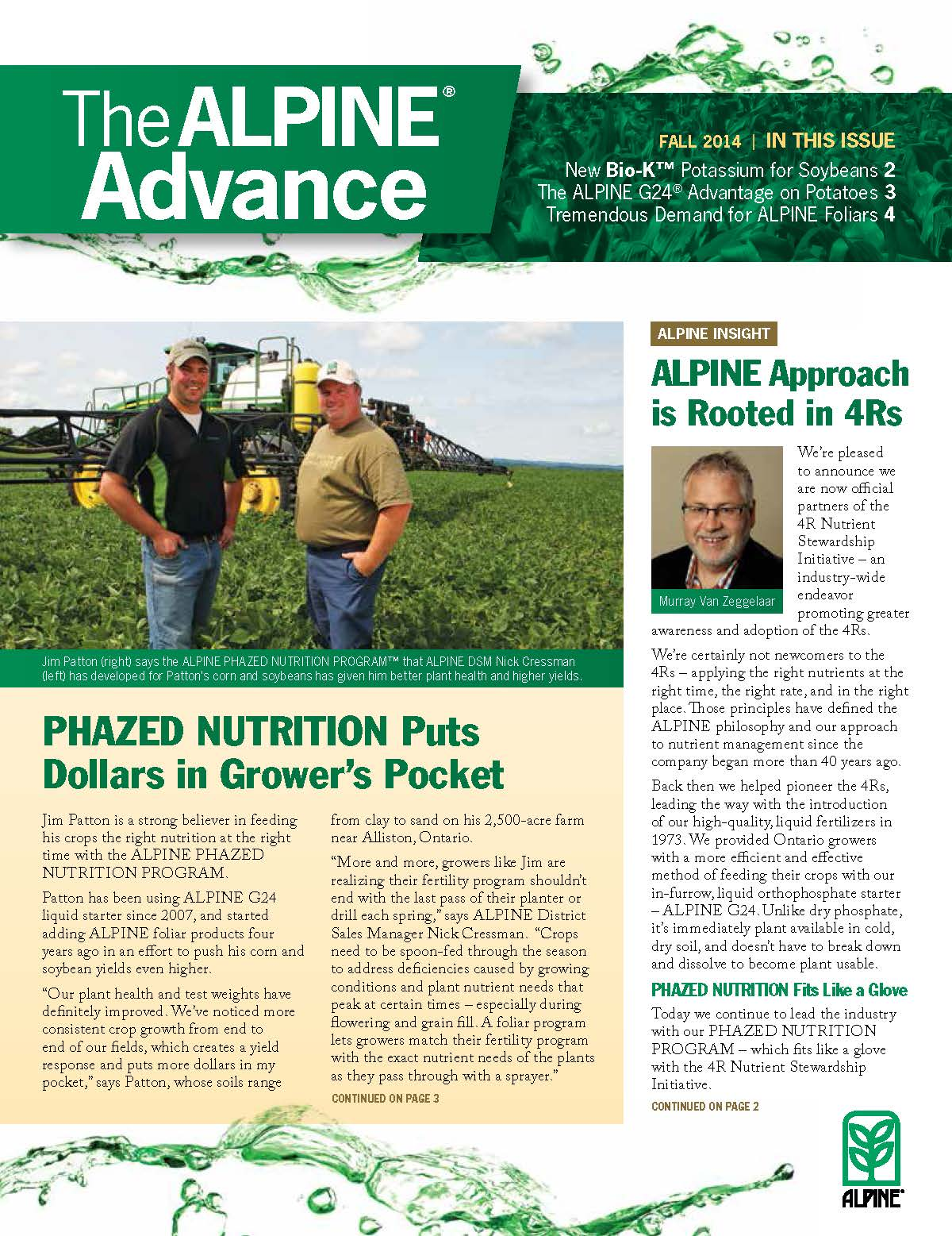The Alpine Advance Fall 2014